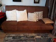 Schlafsofa Couch auch für Dauerschläfer