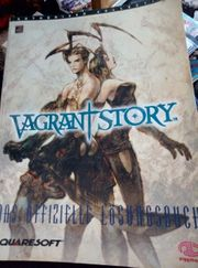 Losungsbuch Vagrant Story Ps Playstation