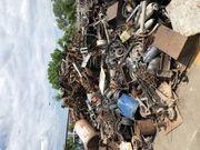 Kostenlose Abholung von metallschrott