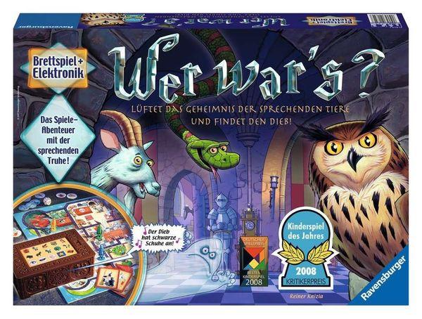 Ravensburger Kinderspiel Wer war s