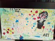 Acryl auf Leinwand-Kunst