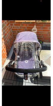 Kinderwagen mit Wintersack
