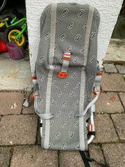 Weber Babyschale für Fahrradanhänger