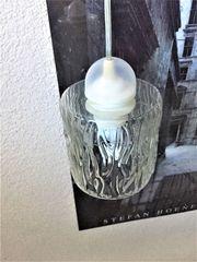 aus Nachlass vintage Lampe Lampenglas