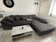 großes Sofa Couch Ecksofa inkl