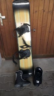 Snowboard inkl Boots
