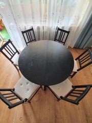 Esstisch mit 6 Stühlen neuwertig