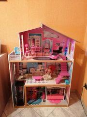 Barbie Spielhaus aus Holz