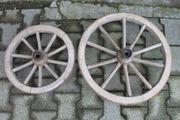 Holzwagenräder 6 St an Selbstabholer