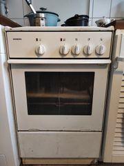 Elektroherd mit Ofen funktioniert einwandfrei