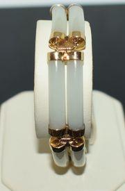 Gelbgold Armband mit Mondstein 14