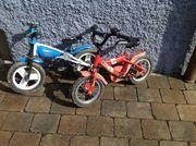 KInderfahrrad und Kinder Laufrad zu