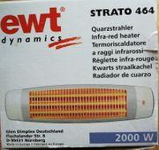 Heizstrahler Quarzstahler 2000 W