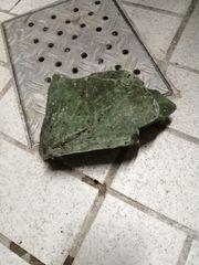 Aquarium stein grün