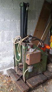 Holzspalter defekt - Hydraulikzylinder