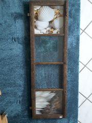Altes Fenster-Deko