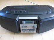 Panasonic RX-DS4 Radio-Cassette mit CD-Spieler