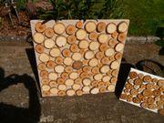 Echtholz Baumscheiben Bilder 50 x