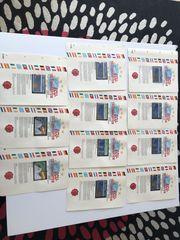 Telefonkarten-Europas offizielle Ausgabe von 12