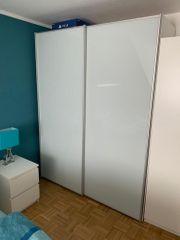 Kleiderschrank mit Schiebetüren 167x68x222cm