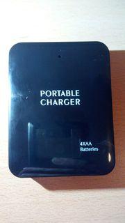 Powerbank mit AA Akkus Batterien