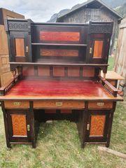 Antike Schrank Schreibtisch