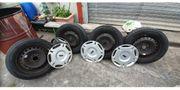 Sommer Reifen auf Stahlfelgen