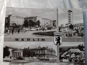 Postkarte Ost Berlin aus den