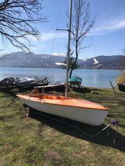 Segelboot Trainer Tegernsee Stellplatzmöglichkeit am