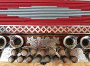 Wunderschöne Steirische Harmonika E-A-D-G Akkordeon