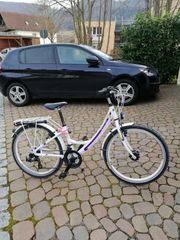 Fahrrad 24 Zoll weiss 21