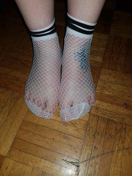 Sonstige Erotikartikel - Ballerina Socken Netz Socken usw