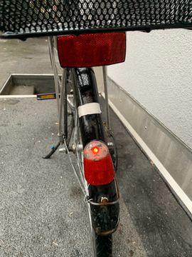Herren-Fahrräder - Herrenrad Steinweg - schwarz mit Dynamo