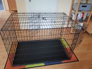 Neuwertiger Hunde Kennel 120x73 höhe