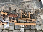 altes Werkzeug Deko Tischler Hobel