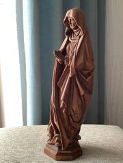 Madonna Holzstatue 42cm Oberammergau 100