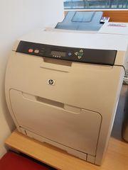 Verschenke Farblaserdrucker HP Color LaserJet