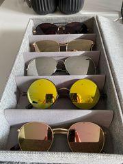 Teilweise neue und gebrauchte Brillen