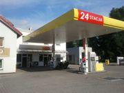 Immobilien Bürofläche mit Tankstelle in
