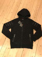 Kapuzen-Jacke schwarz Gr L