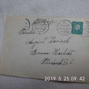 Brief von 1959 gelaufen