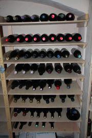 Wein Rotwein aus privatem Bestand