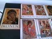 6 Bücher Mappen mit Ikonen