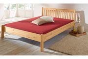 NEU Bett massiv Holz 140x200