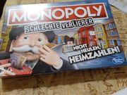 Verkaufe Monopoly für Schlechte Verlierer