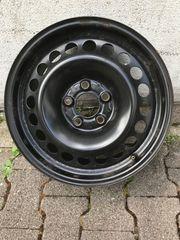 4x Stahlfelgen für Mercedes BR204