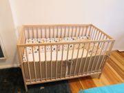 Babybett Kinderbett mit Matratze