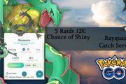 Pokemon Go Rayquaza Fangservice
