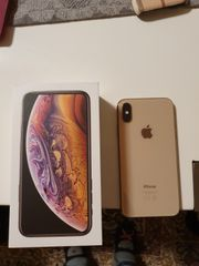 Iphone XS 256GB gold inkl