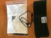 Bluetooth Stirnband schwarz mit integriertem